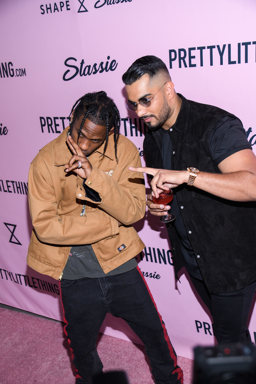 PrettyLittleThing New PLT Shape Collection with Stassie Celebrity Launch Party Travis Scott and Umar Kamani.jpg