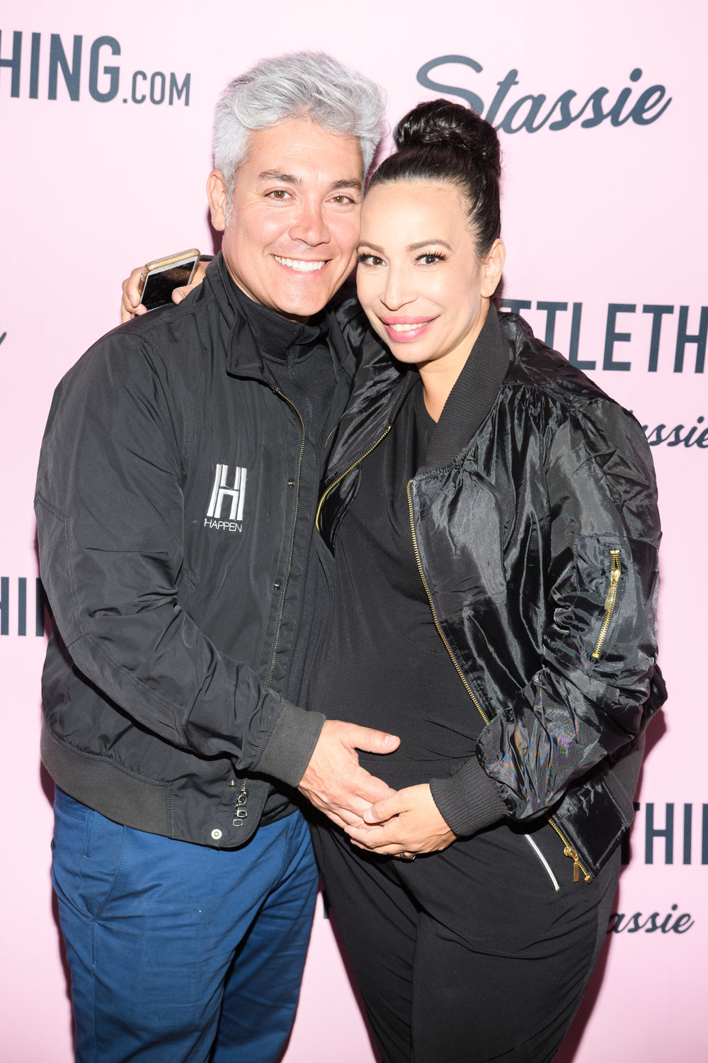 PrettyLittleThing New PLT Shape Collection with Stassie Celebrity Launch Party Herick Serna and Lori of WOTP together.jpg