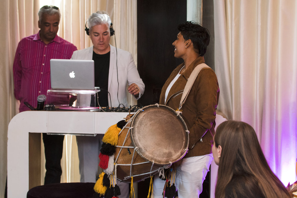 Moroccan Inspired Baby Shower Party Dhol player Malinder Tooray.jpg