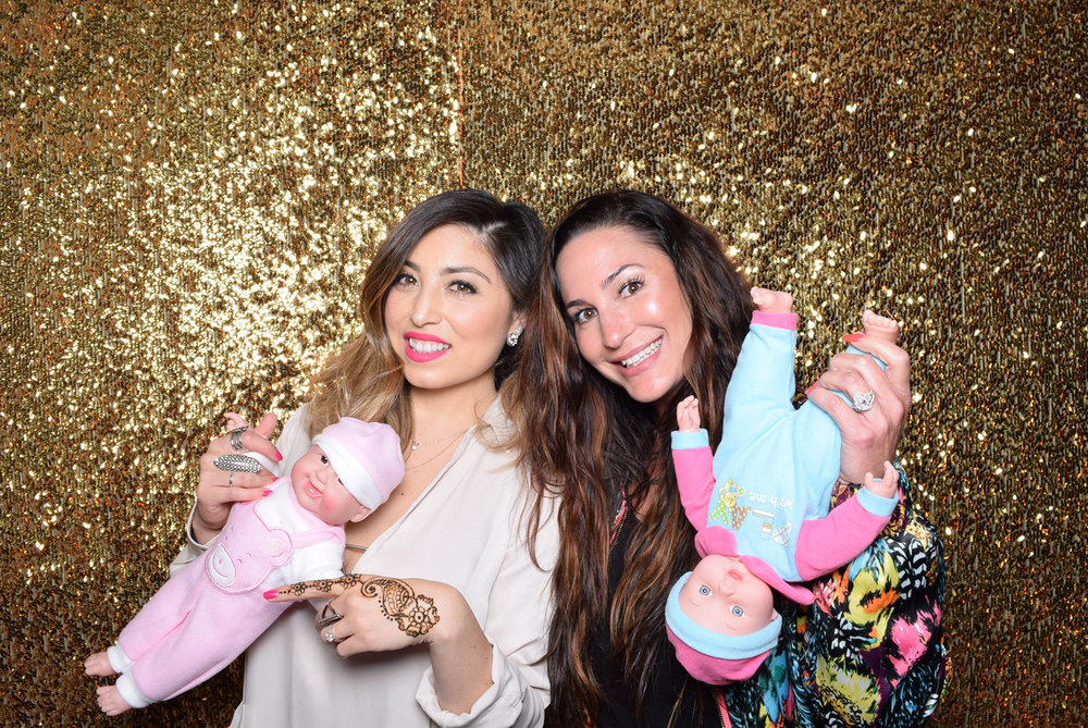 Moroccan Inspired Baby Shower Party guests having fun with props.jpg
