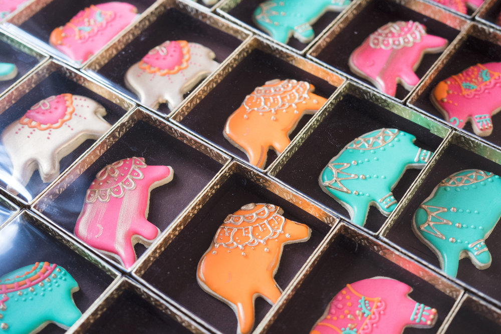 Moroccan Inspired Baby Shower Party elephant cookies.jpg