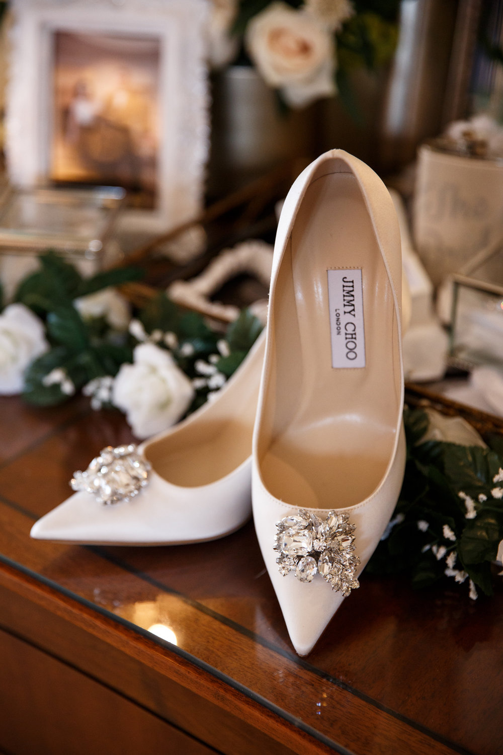 Elegant Pasadena Wedding to Make You Swoon beautiful Jimmy Choo heels.jpg