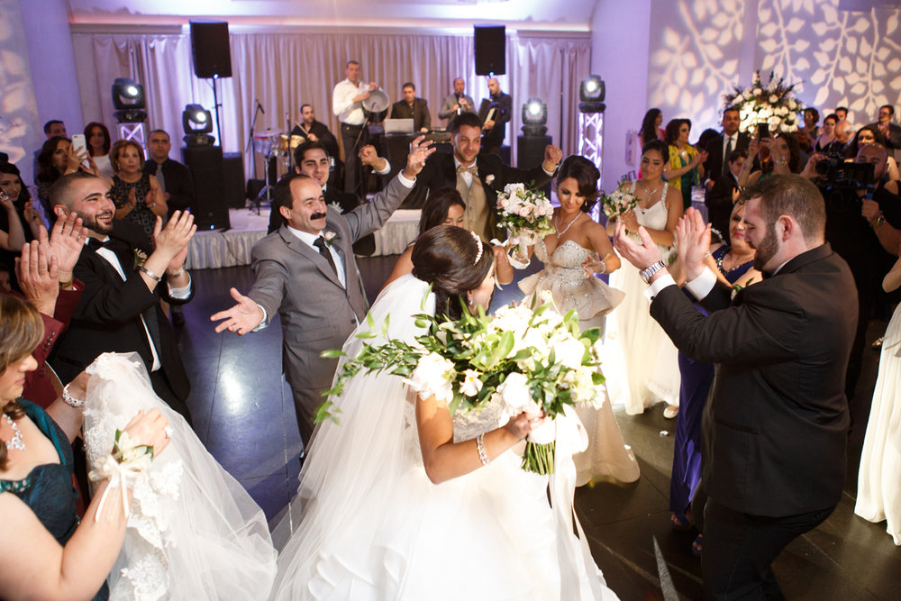 Elegant Pasadena Wedding to Make You Swoon wedding party dancing at reception.jpg