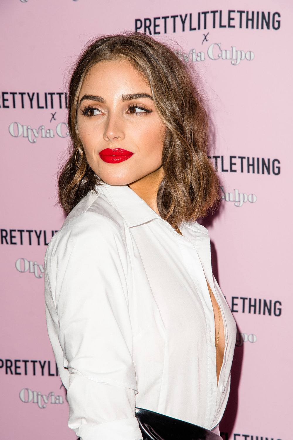 PrettyLittleThing PLT X Olivia Culpo Collection  Celebrity Launch Party Olivia Culpo on the red carpet.jpg