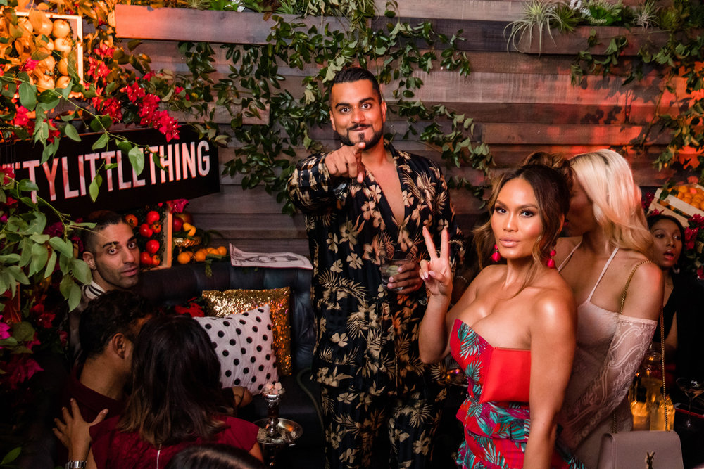 PrettyLittleThing PLT X Olivia Culpo Collection  Celebrity Launch Party Umar Kamani and Daphne Joy.jpg