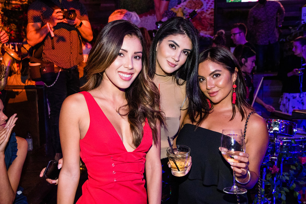 PrettyLittleThing PLT X Olivia Culpo Collection  Celebrity Launch Party guests having fun.jpg