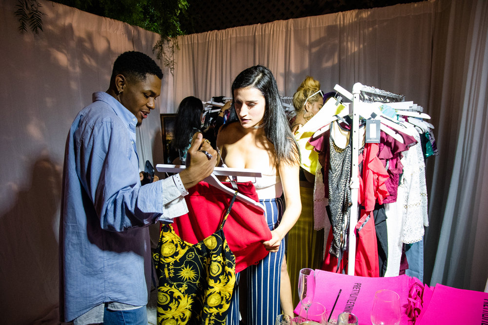 PrettyLittleThing PLT X Olivia Culpo Collection  Celebrity Launch Party gifting suite.jpg