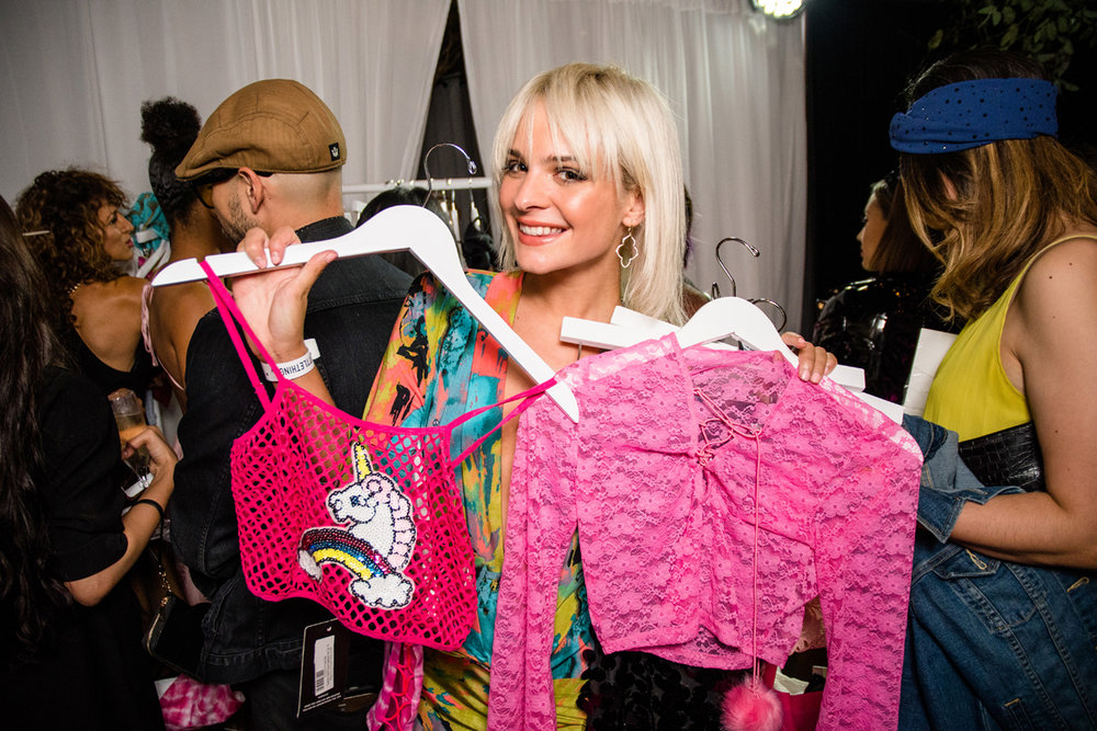 PrettyLittleThing PLT X Olivia Culpo Collection  Celebrity Launch Party having fun shopping.jpg