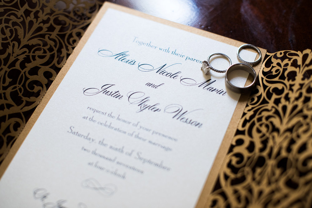 Dreamy Romantic Wedding at Historic Los Angeles Ebell Club invitation suite.jpg
