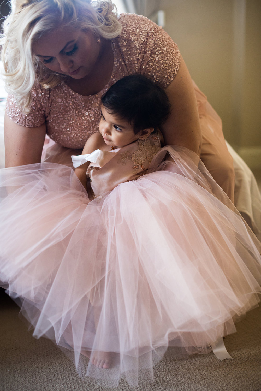 Dreamy Romantic Wedding at Historic Los Angeles Ebell Club darling flower girl.jpg