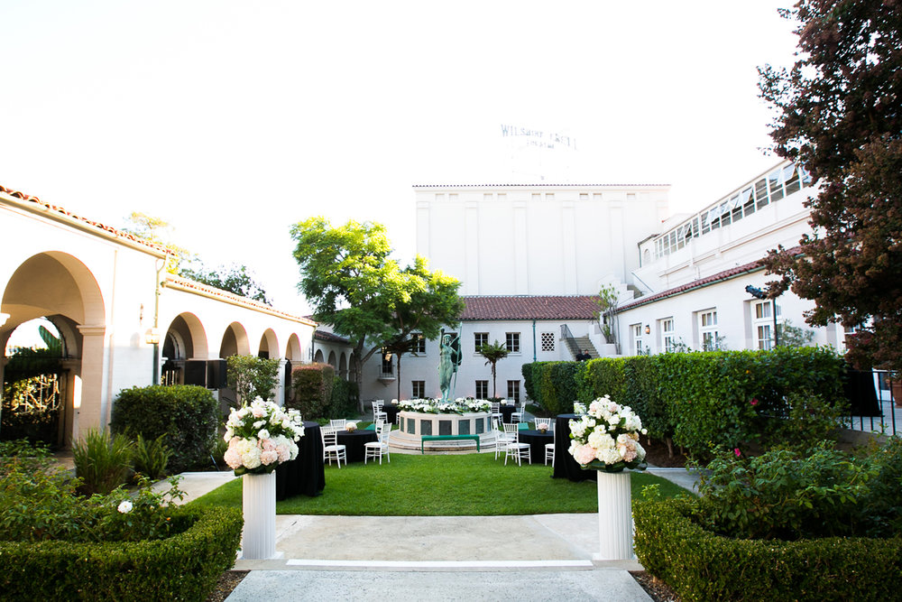 Dreamy Romantic Wedding at Historic Los Angeles Ebell Club courtyard at Ebell.jpg