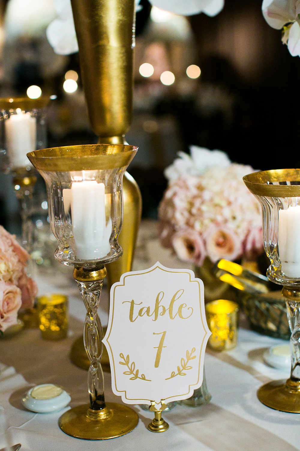 Dreamy Romantic Wedding at Historic Los Angeles Ebell Club table numbers.jpg