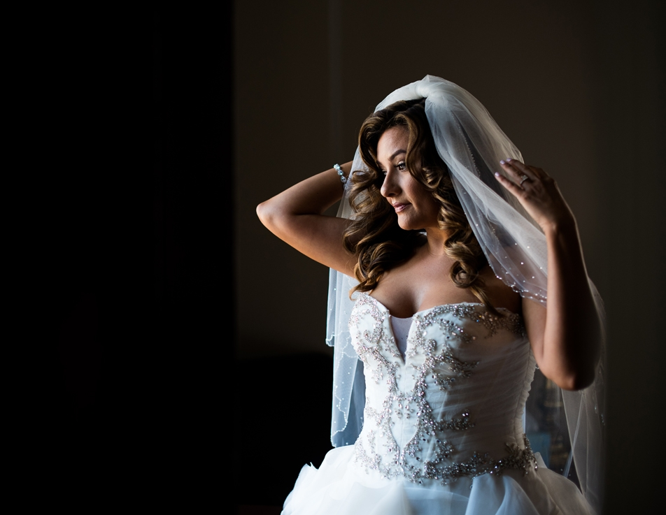 Dreamy Romantic Wedding at Historic Los Angeles Ebell Club bride before the wedding.jpg