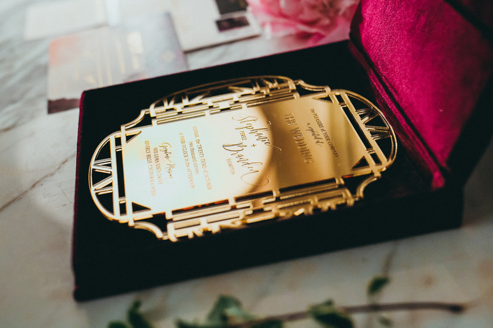Breathtaking Contemporary Jewel Toned Fall Posh Wedding stunning invitation.jpg