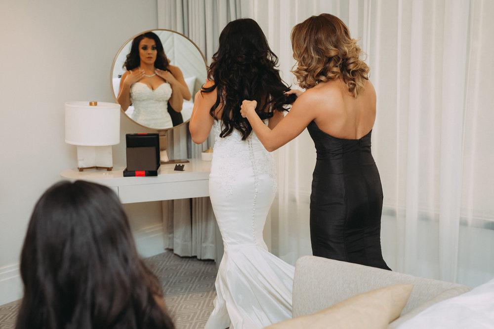 Breathtaking Contemporary Jewel Toned Fall Posh Wedding last prep check.jpg