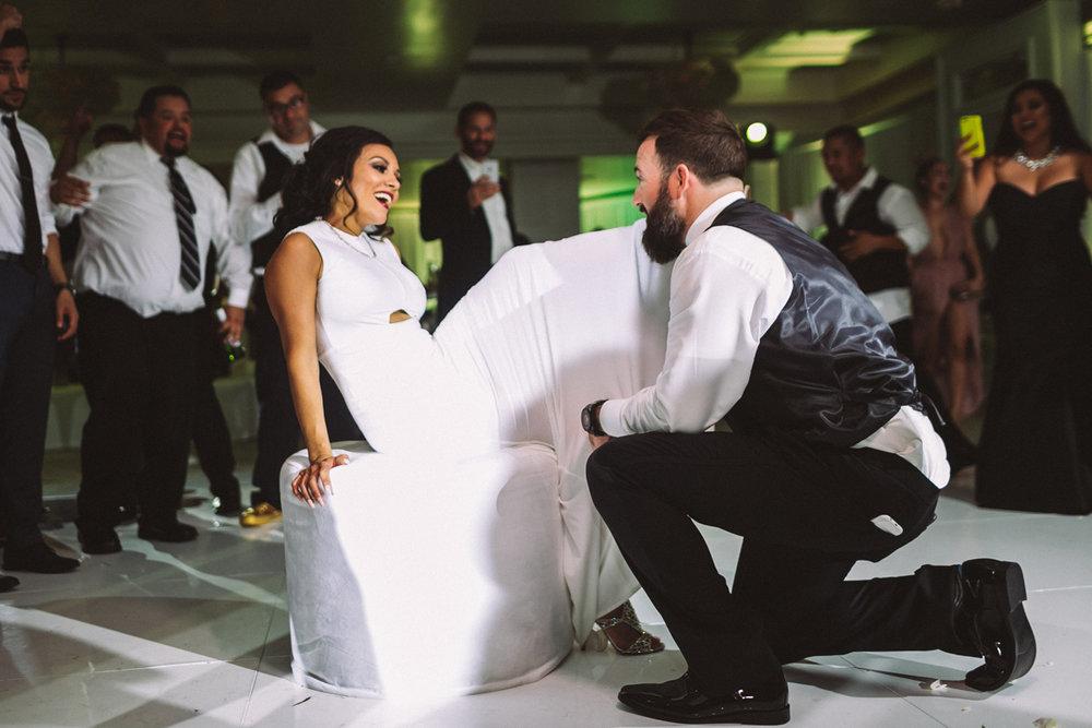 Breathtaking Contemporary Jewel Toned Fall Posh Wedding garter.jpg