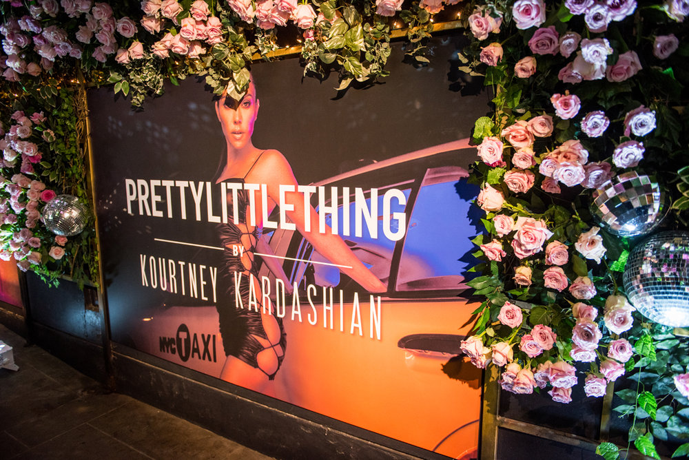 PrettyLittleThing PLT X Kourtney Kardashian Collection Celebrity Launch Party poster of KK.jpg