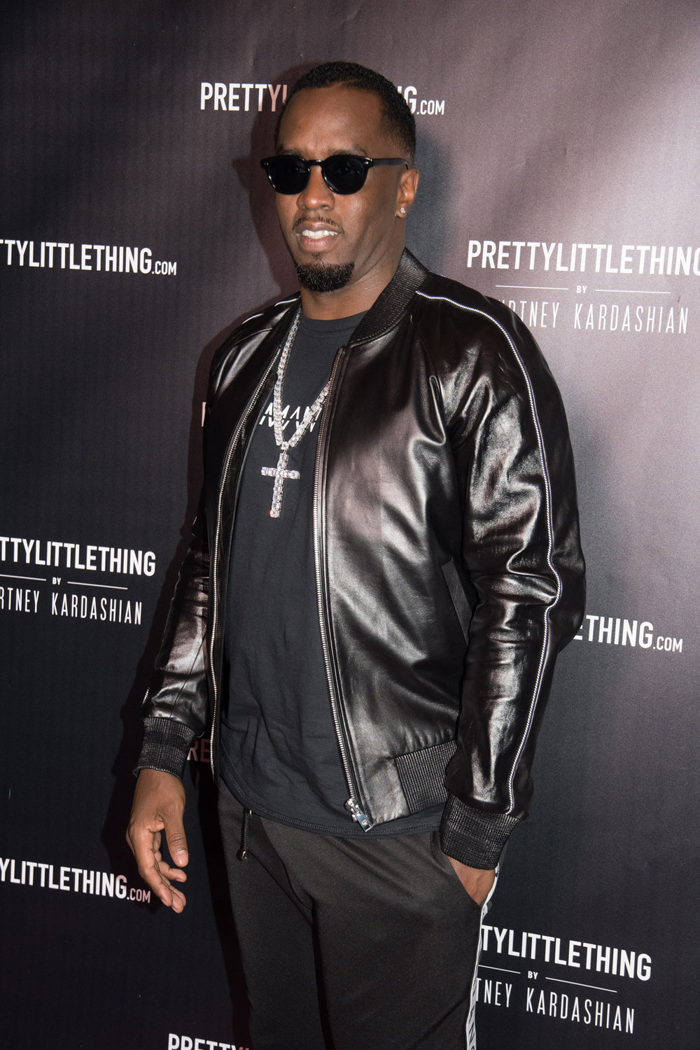 PrettyLittleThing PLT X Kourtney Kardashian Collection Celebrity Launch Party P Diddy arrives.jpg
