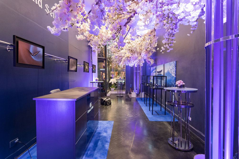 Grand Seiko Boutique Grand Affair Beverly Hills Store Opening Showroom Adorned with Cherry Blossoms.jpg