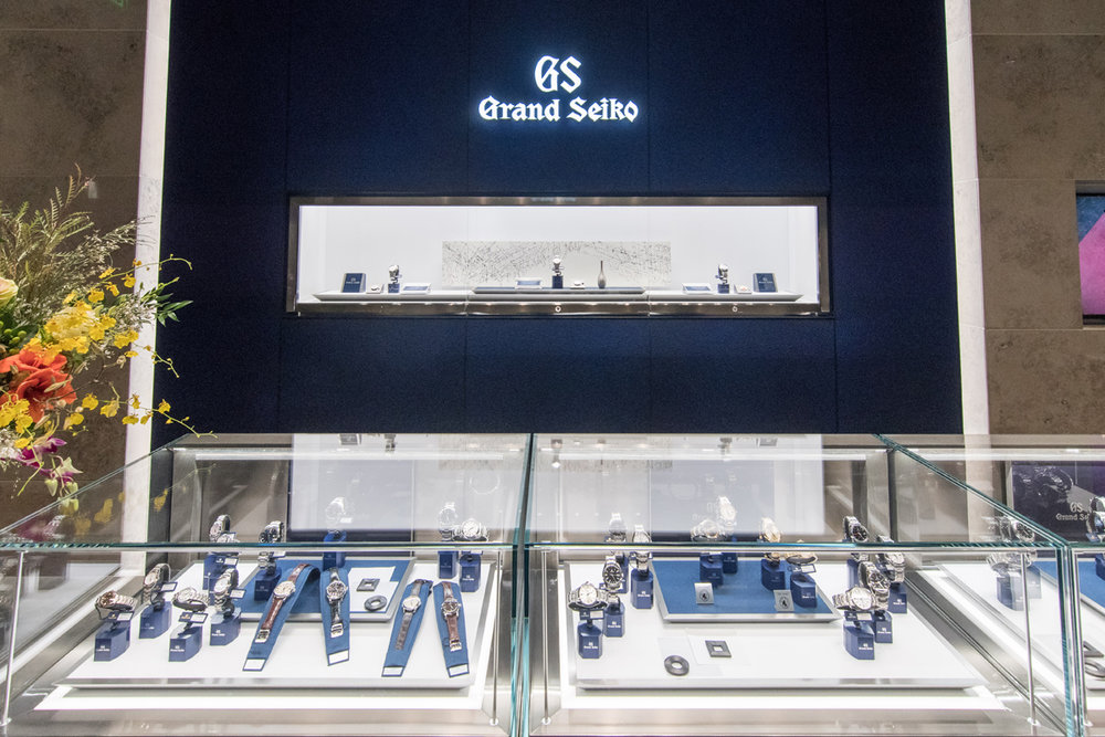 Grand Seiko Boutique Grand Affair Beverly Hills Store Opening Cases of Watches.jpg