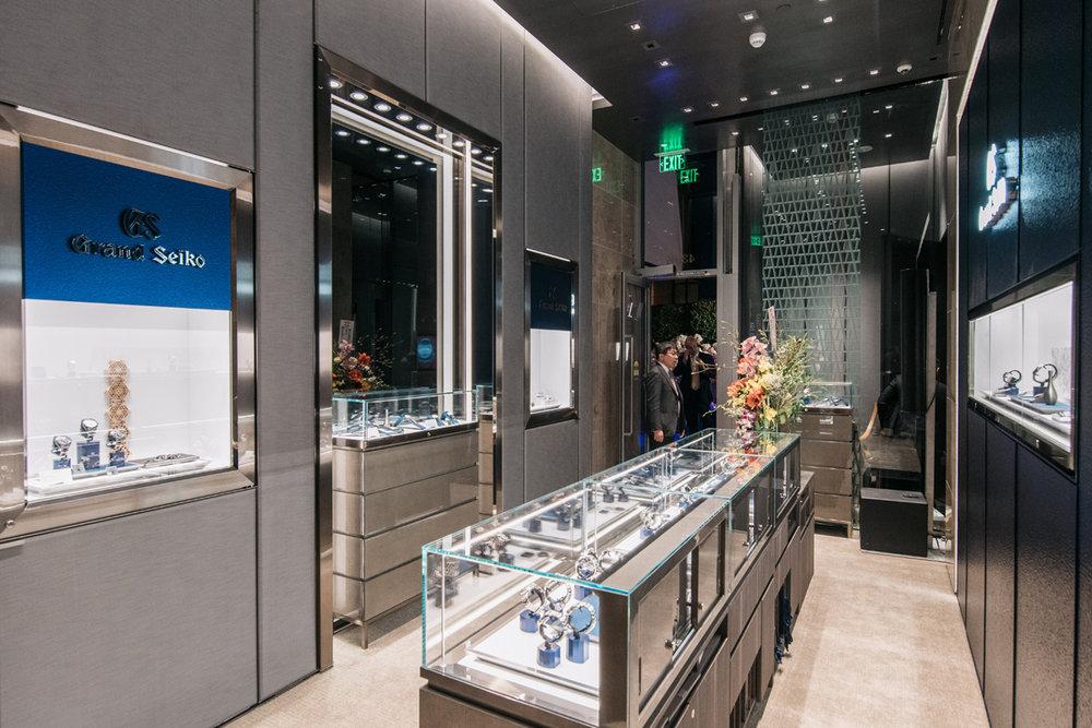 Grand Seiko Boutique Grand Affair Beverly Hills Store Opening Main Showroom.jpg