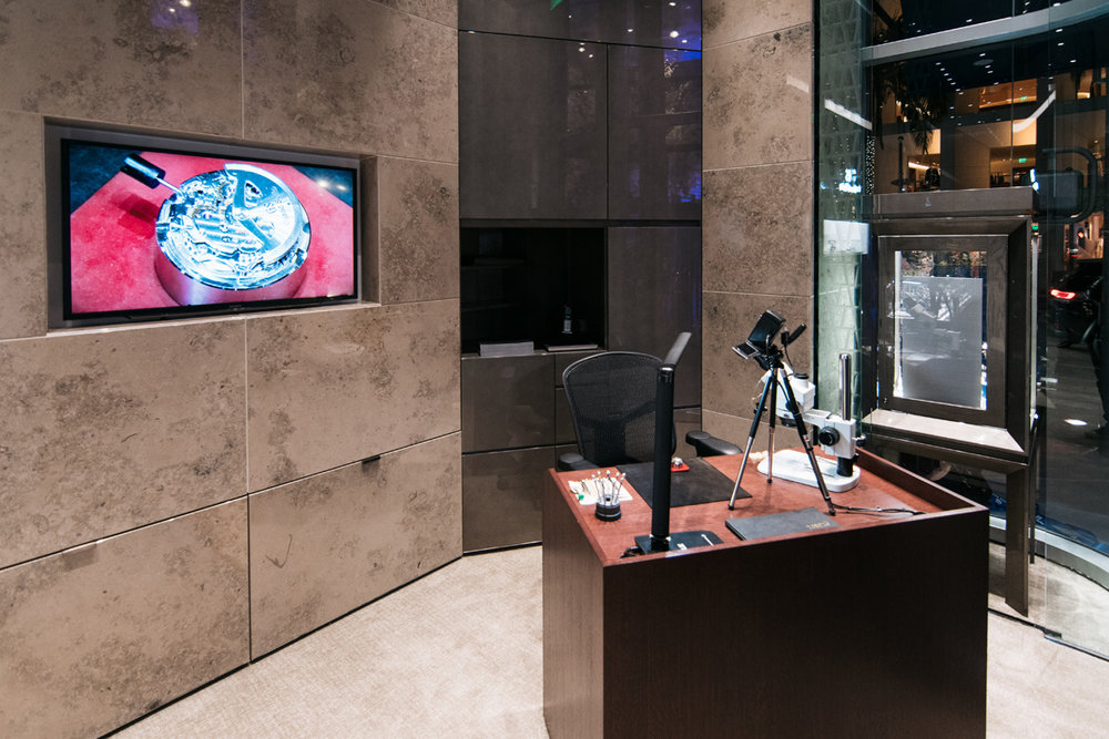 Grand Seiko Boutique Grand Affair Beverly Hills Store Opening Watch Service Area.jpg