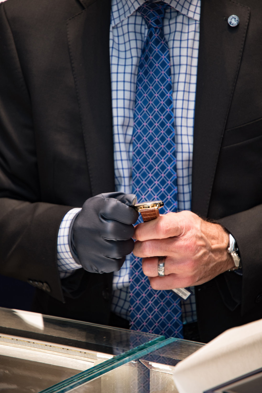 Grand Seiko Boutique Grand Affair Beverly Hills Store Opening Demonstrating Setting Timepiece.jpg