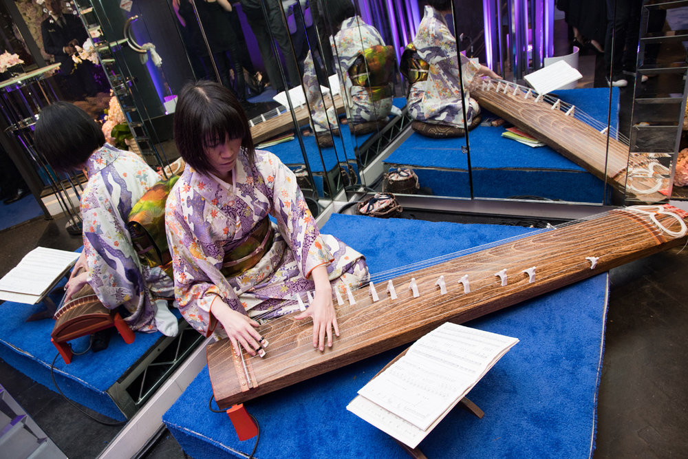 Grand Seiko Boutique Grand Affair Beverly Hills Store Opening Traditional Japanese Koto String Instrument.jpg