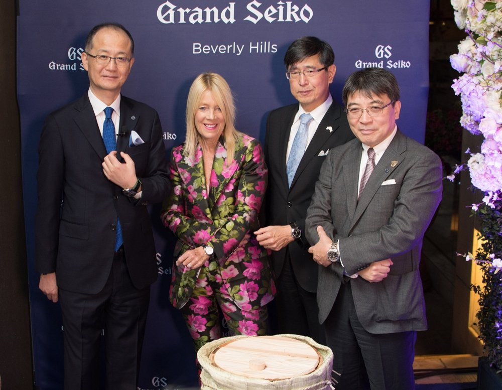 Grand Seiko Boutique Grand Affair Beverly Hills Store Opening Shuji Takahashi. Lili Bosse.Akira Chiba. Akio Naito.jpg