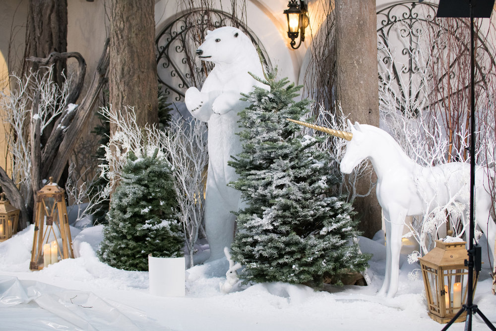 narnia inspired opulent winter wonderland party wotp