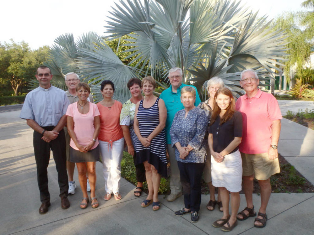 Group shot of the 2016 PAC members (missing are Fr. Russell, Rick Blackmore and Jim Owens.)