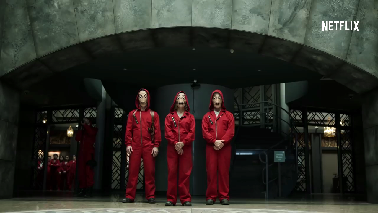 Money Heist: Season 2 — Ryan Rigley