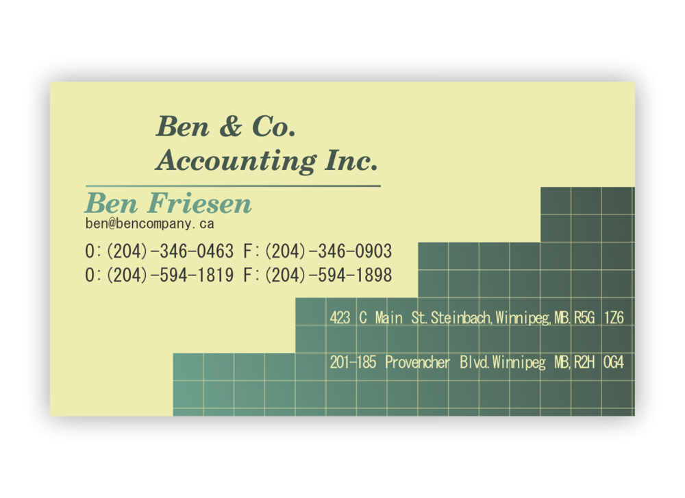 Business Cards — Braid\'s Creative Design