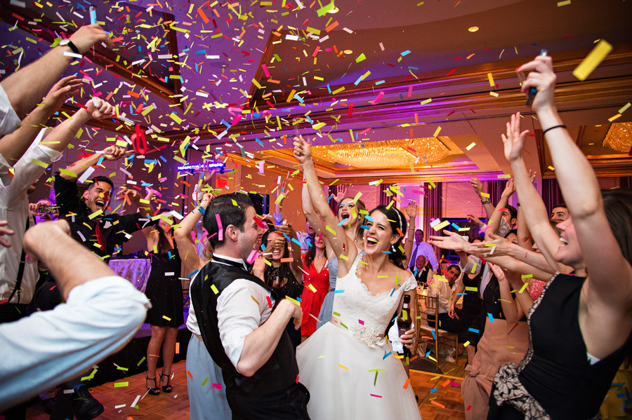 CONFETTI BLAST - Newest Trend for 2018!  Colorful, slow fall confetti.  The ultimate dance floor celebration at your event.  It is safe, indoor approved at most venues.