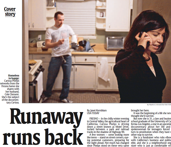 Runaway runs back