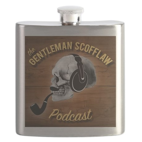 Gentleman Scofflaw Hip Flask