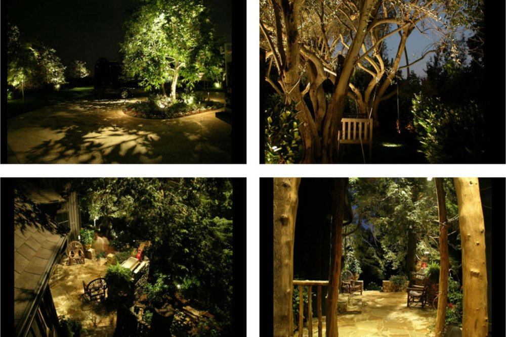 Landscape Lighting - Professionally designed landscape lighting can be breathtaking when done well. Gardenalia develops personalized lighting solutions that enhance the beauty of you home while also improving property security.
