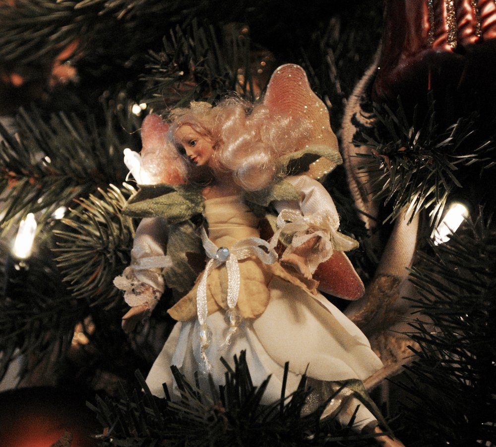 One of several fairies that can be found on the tree.