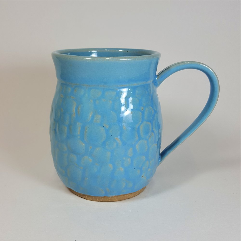 16 oz. Light Blue Dragon Scale Mug - $45