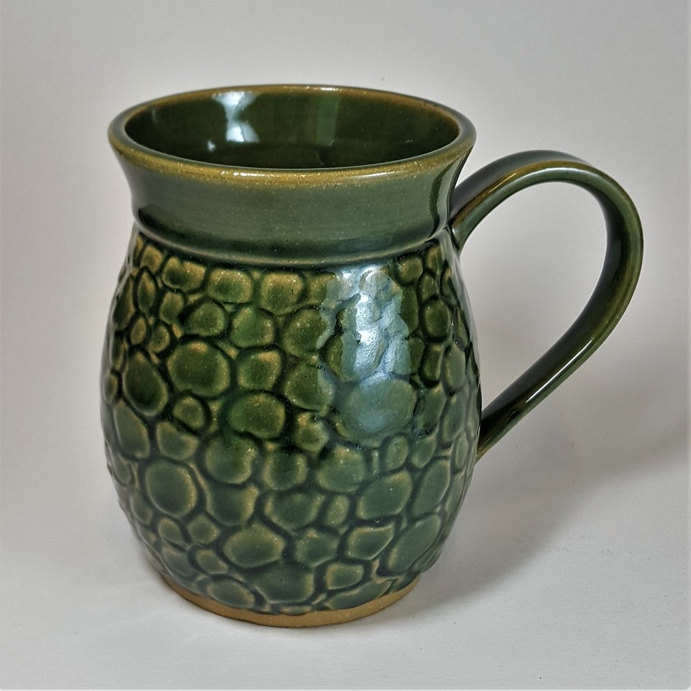 24 oz. Green Dragon Scale Mug - $48