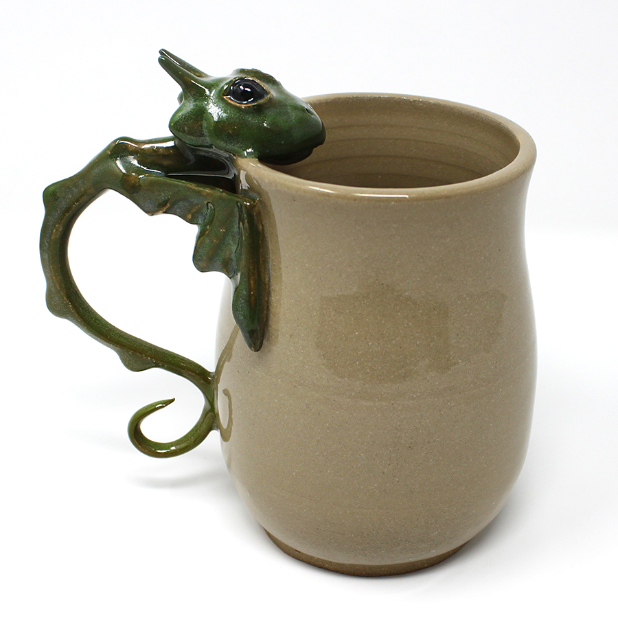 XL 23 oz. Green Dragon Mug - $75