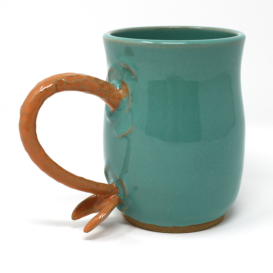 SECOND 16 oz. Orange Mermaid Mug - $55