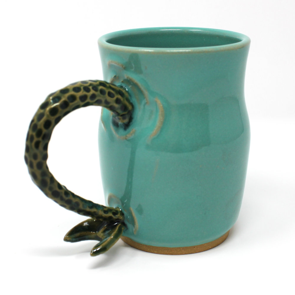 17 oz. Green Mermaid Mug - $60