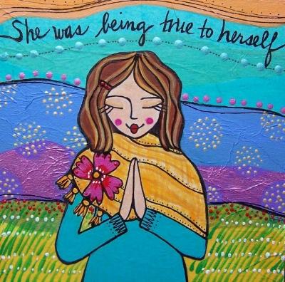 true to herself.jpg