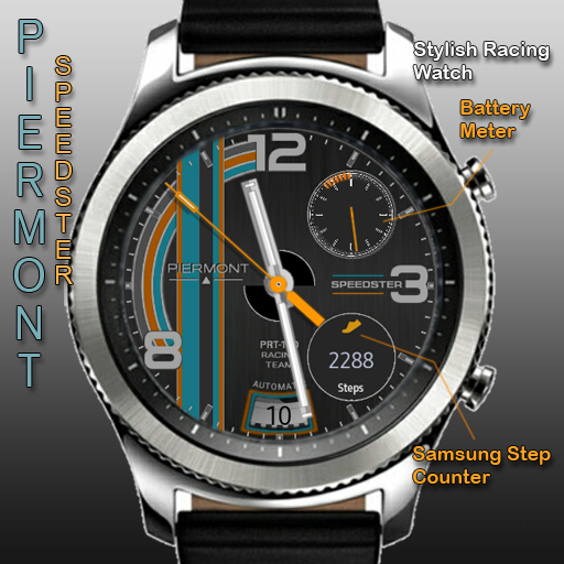 Piermont Speedster http://apps.samsung.com/gear/appDetail.as?appId=com.watchface.pierspeedsterrc