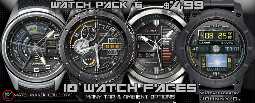 MY SIXTH 10 PACK. REQUIRES WATCHMAKER ANDROID APP