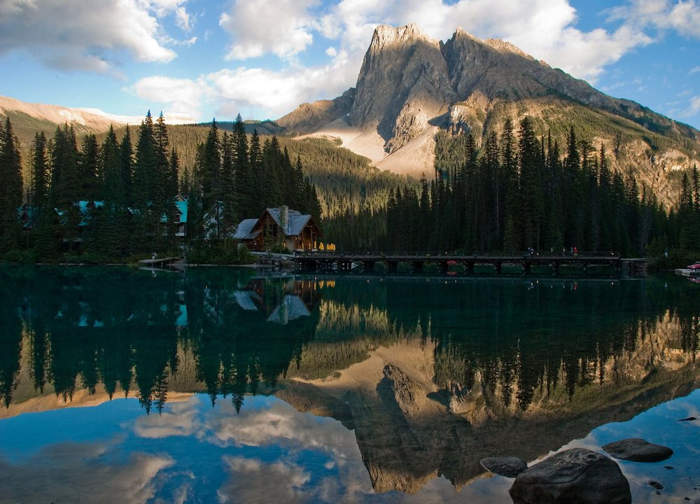 Emerald Lake, BC (inside Yoho National Park)is one of the most magical places in all of Canada. As part of Canada 150, here is the third photo (fourth in the series) of Emerald Lake.