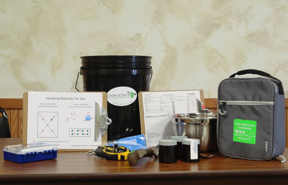 In 2018, we developed a soil sampling toolkit with our members.