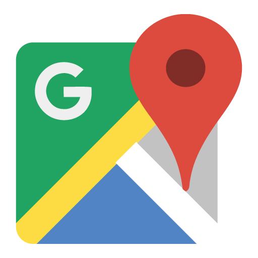 ก่อนอื่นต้องเปิดแอปแผนที่(Google maps) ขึ้นมาก่อนนะคะ หน้าตาแอปจะเป็นแบบนี้ค่ะ -