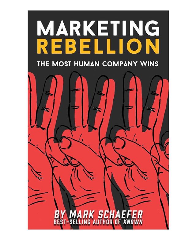 Had so much fun stepping out of my comfort zone and designing my first book cover for the marketing genius (and all around solid human) @markwschaefer✌️ The book is available for preorder on amazon right now❤️ . . . . . #customillustration #bookcover #peacesign #marketingrebellion #art #peace #rebel #stayhuman #themakercity #knoxrocks #markschaefer #author #marketer #marketing #goodhuman #businessbook #business